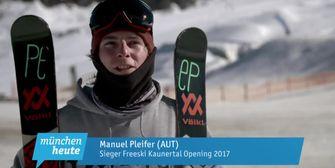Snowboarder und Freeskier eröffnen Saison bei den Kaunertal Open