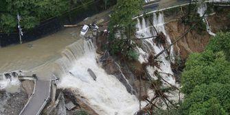 Taifun LAN hinterlässt in Japan Tod und Zerstörung