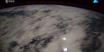 Weltraum-Bilder: So schön ist Gewitter von oben