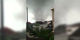 Dutzende Verletzte: Tornado fegt über Java