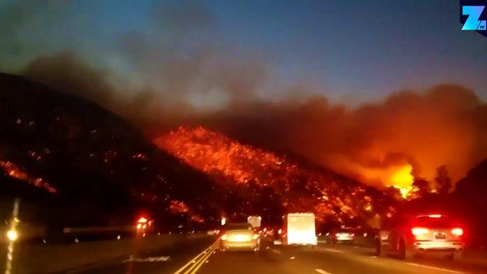 Inferno in Kalifornien: 95.000 Hektar Land bereits zerstört