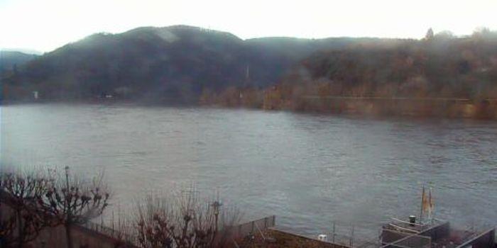 Livecam Boppard am Rhein - Rheinallee - Bellevue Rheinhotel
