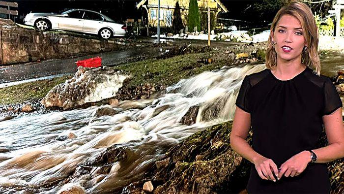 Dramatische Hochwasserlage hält bis Montag an!
