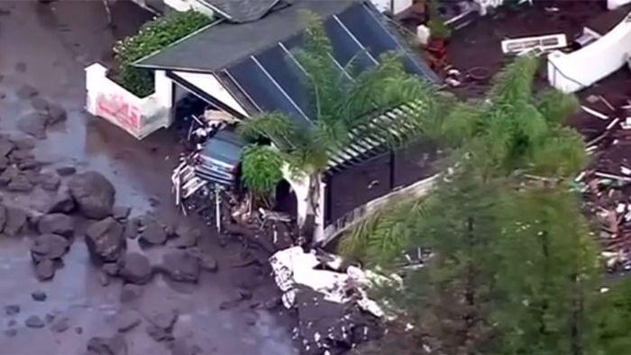 Noch mehr Tote nach Schlammlawine in Kalifornien