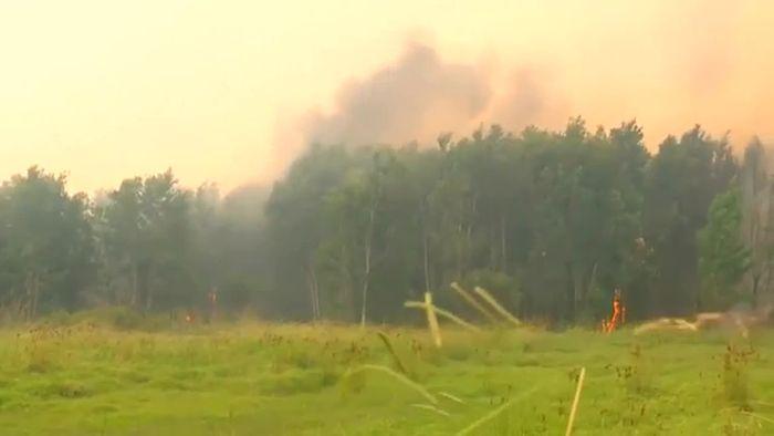 Buschfeuer halten Australien in Atem