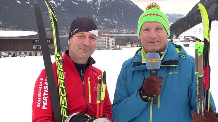 Skilanglauf leicht gemacht - Am Achensee kein Problem
