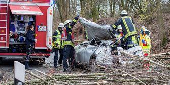 FRIEDERIKE tobt: Todesopfer - Bahnverkehr eingestellt - Flugausfälle