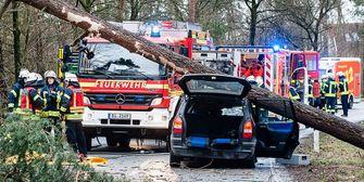 Mehrere Tote: Schreckensbilanz nach Orkan FRIEDERIKE