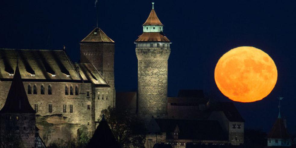 Supermond Blue Moon Und Blutmond In Einer Nacht Wettercom