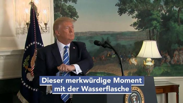 Donald Trumps Fettnäpfchen: Neun peinliche Momente im ...