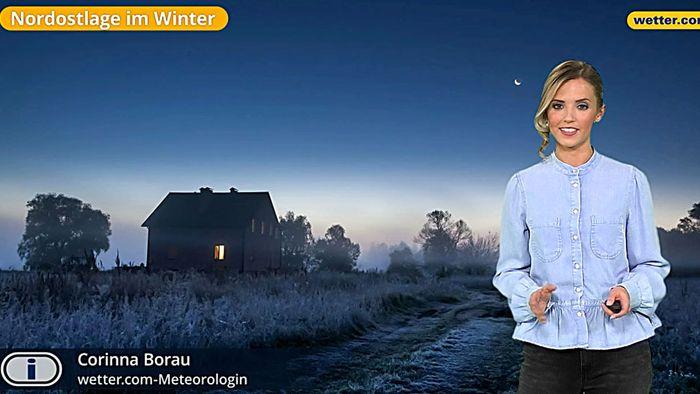 Nordostlage im Winter: Darum wird es so eisig