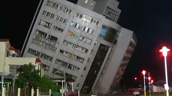 Tödliches Erdbeben in Taiwan - Hotel eingestürzt | wetter.com