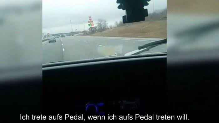 Mit 160 km/h zum Gericht: Raser streamt live auf Facebook