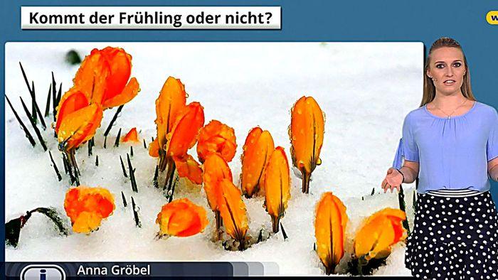 16-Tage-Trend: Winterwetter statt Frühlingsgefühle