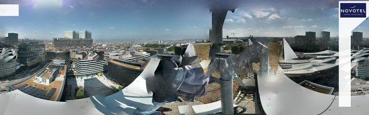 Livecam Wien - Hauptbahnhof - Hotel Novotel