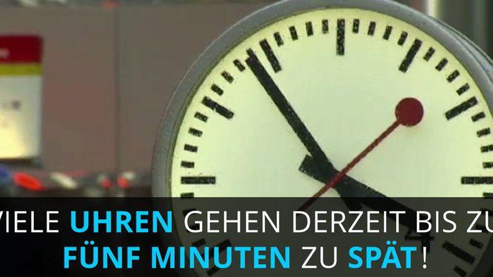 Einfache Uhren zeigen bald wieder richtige Zeit an