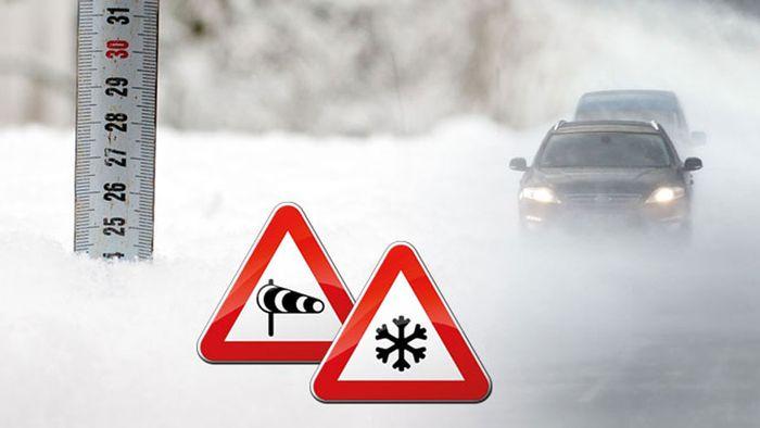 Unwetterartige Schneeverwehungen und weitere Gefahren!