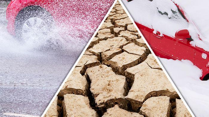 Dürre, Starkregen, Schneemassen: Schwacher Golfstrom mit krassen Folgen