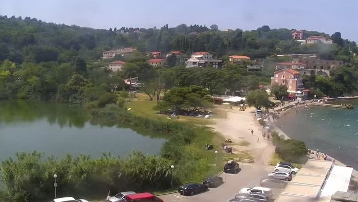 HD Live Webcam Fiesa - Piran - Beach Hotel Barbara
