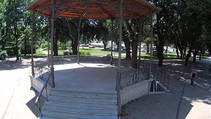 HD Live Webcam Karlovac - music pavilion