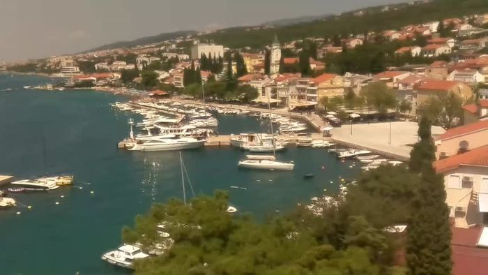 HD Live Webcam Selce -  beautiful view from hotel Selce