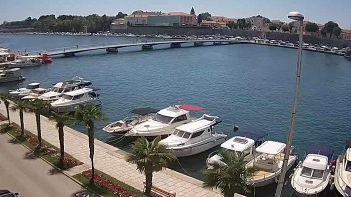 HD Live Webcam Zadar - Stadtbrücke - Gradski most