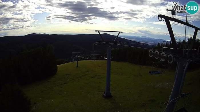 HD Live Webcam Rogla ski resort - Jurgovo Bergstation