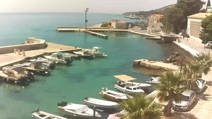 HD Live Webcam Mlini - Dubrovnik - Hafen