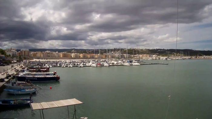 HD Live Webcam The Port of Vieste (Gargano)