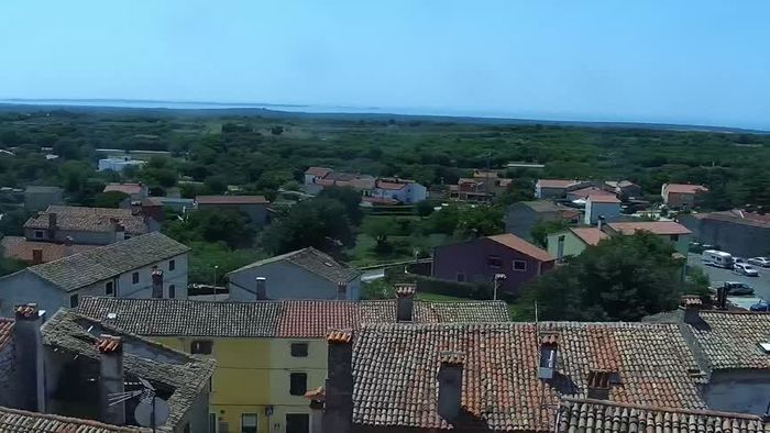 HD Live Webcam Bale - view from Soardo-Bembo Palace