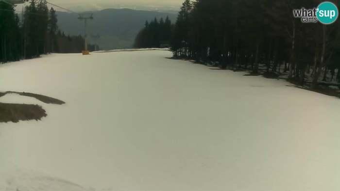 HD Live Webcam Maribor Pohorje - Ruše - Pisker Sesselbahn