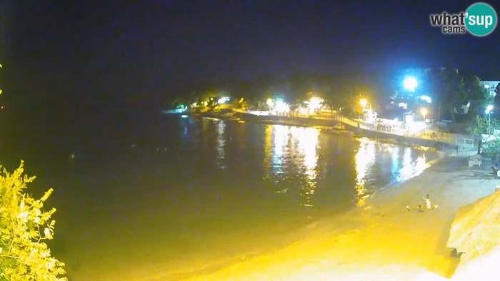 HD Live Webcam Beach Slanica Murter - Live Cam