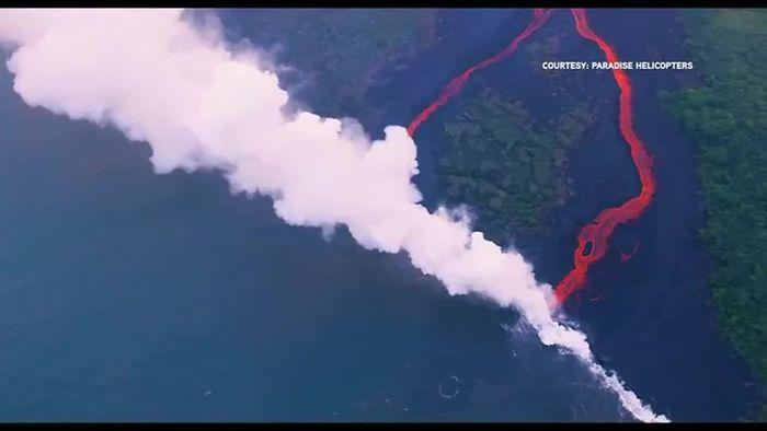 Giftwolke! Vulkan-Lage auf Hawaii immer dramatischer