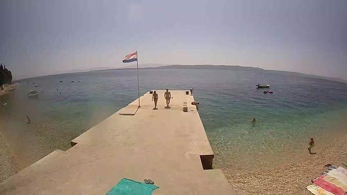 HD Live Webcam Živogošče webcam - Mala Duba