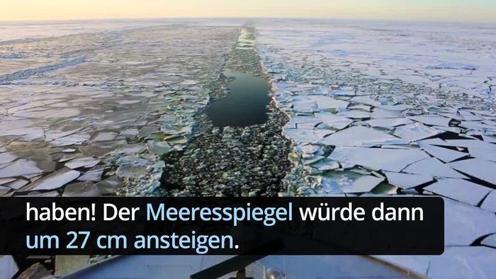 Antarktis-Eis schmilzt immer schneller