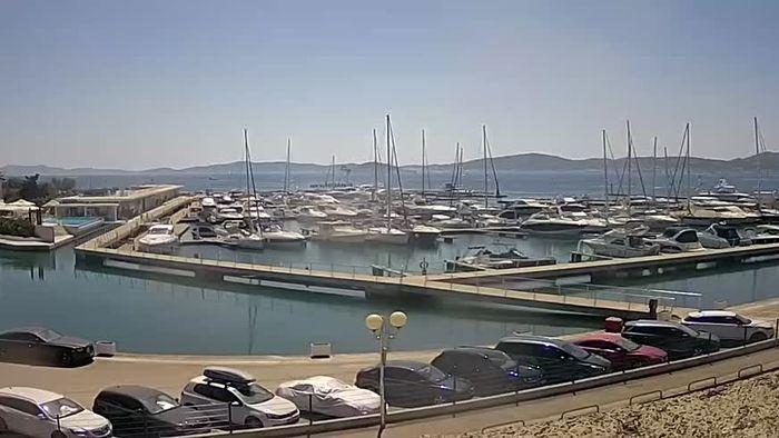 HD Live Webcam Zadar - Yachthafen Kroatien