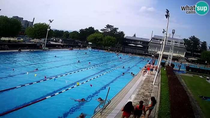 HD Live Webcam Celje - Main swimming pool