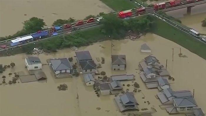 Flutkatastrophe in Japan: Ausmaße extrem gefährlich