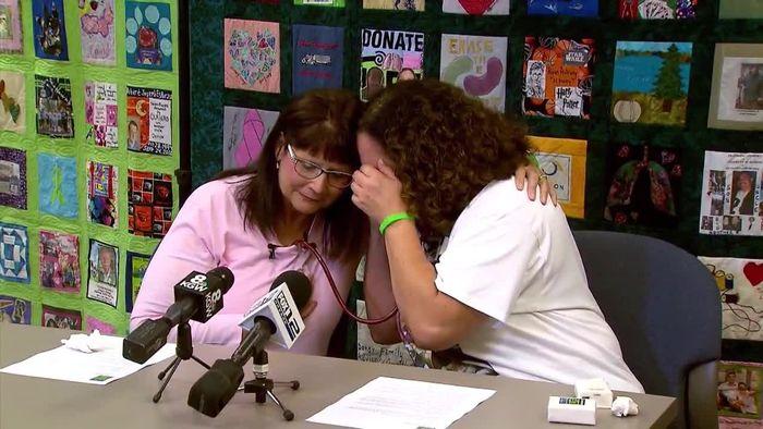 Zweite Chance: Mutter hört Herz ihrer toten Tochter schlagen