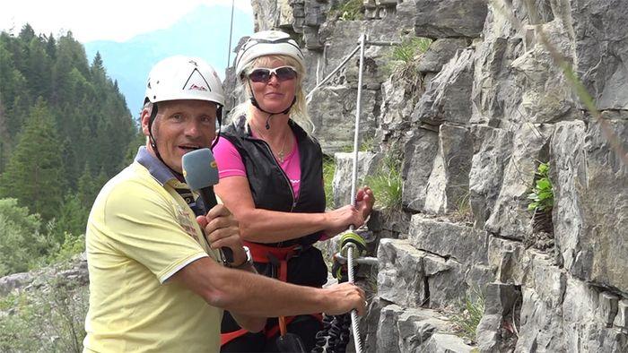 Tiroler Zugspitzarena: Klettern leicht gemacht