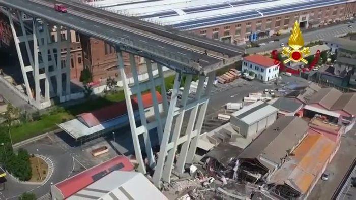 Nach Brückeneinsturz in Genua: Letzte Vermisste tot geborgen