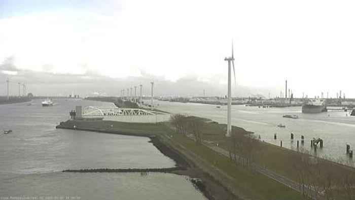 HD Live Webcam Rotterdam - Hoek van Holland - Maeslant-Sperrwerk