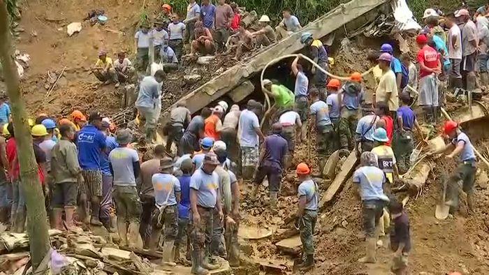 Tod und Zerstörung nach Supertaifun MANGKHUT
