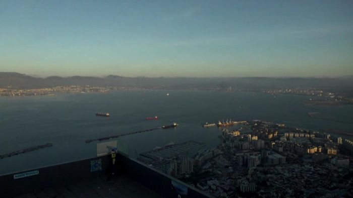 HD Live Webcam Gibraltar Cable Car