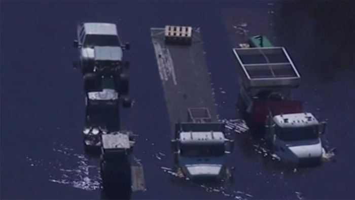 Katastrophengebiet: So heftig ist North Carolina nach FLORENCE überschwemmt