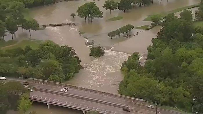 Überschwemmungen in Texas