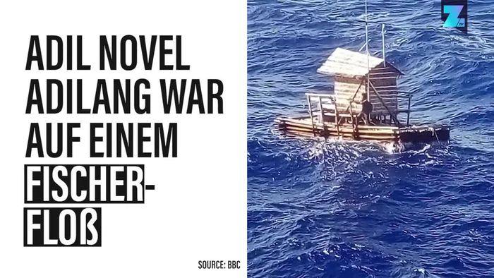 49 Tage alleine auf dem Meer: So hat ein Junge überlebt