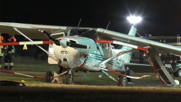 Am Sonntag verunglückten drei Menschen bei einem Flugzeugunfall.