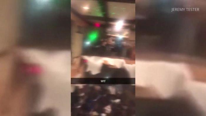 Schwer gefeiert: Boden bricht bei Party ein