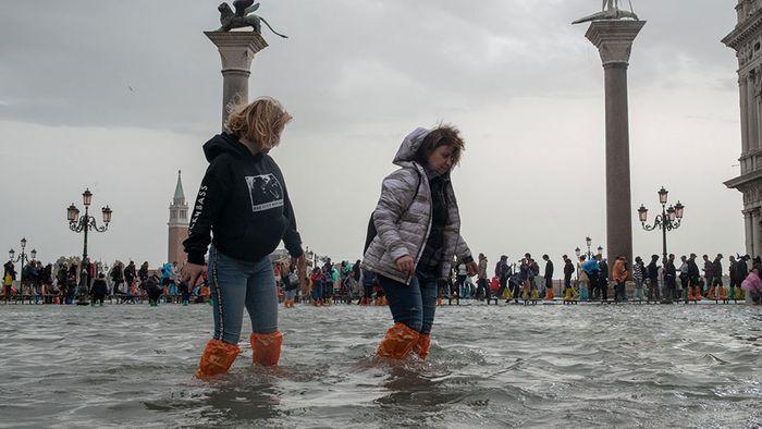 Mehrere Unwettertote in Italien - Venedig überflutet